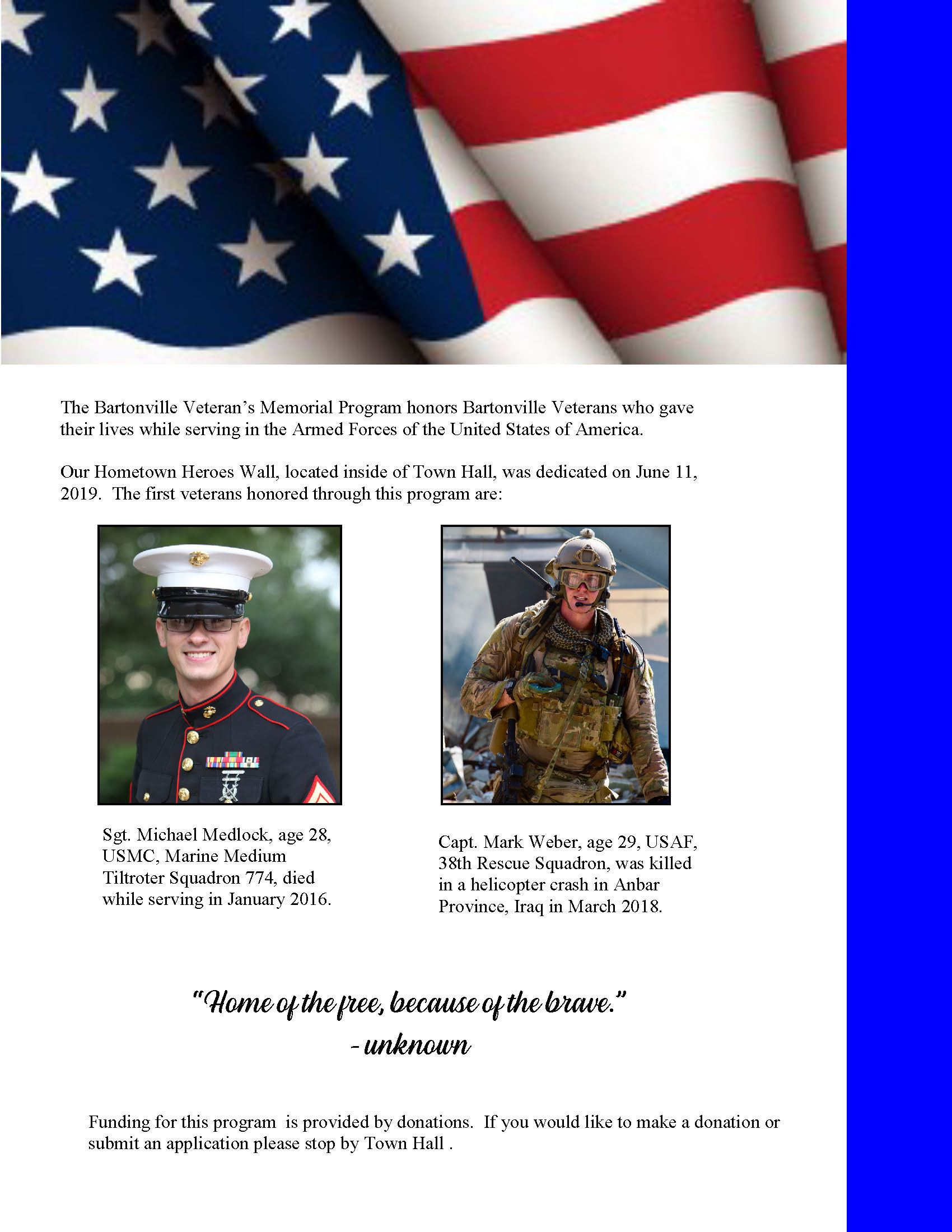 Veterans Page